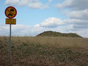 bronsåldershög vid Tullstorpsstigen