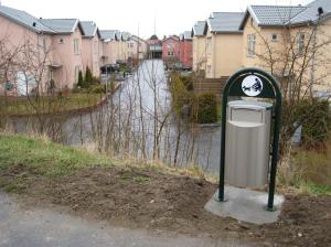 Civilisationen har nått Kvarnby ängar