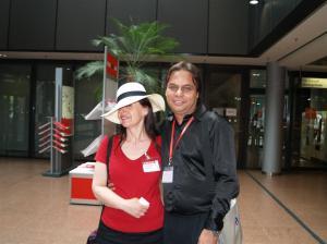 jag, hatten och Mr Sarvjit