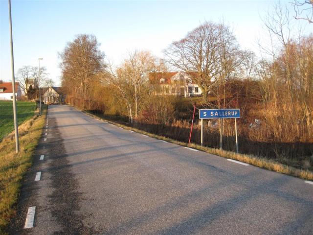 Snöpinnen vid Södra Sallerups prästgård